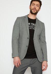 TOM TAILOR - DOBBY - Suit jacket - grey - 4