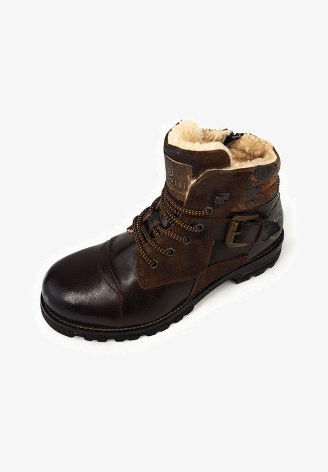 Snowboot/Winterstiefel - dark brown