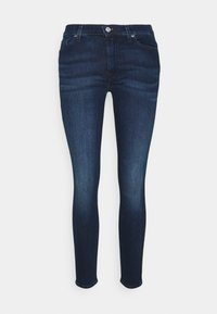 CROP  - Jeans Skinny Fit - dark blue