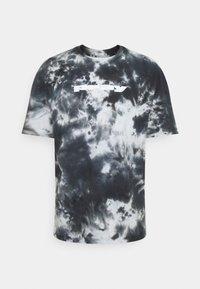 PRAY - CLASSIC TIE DYE UNISEX  - Print T-shirt - black - 0