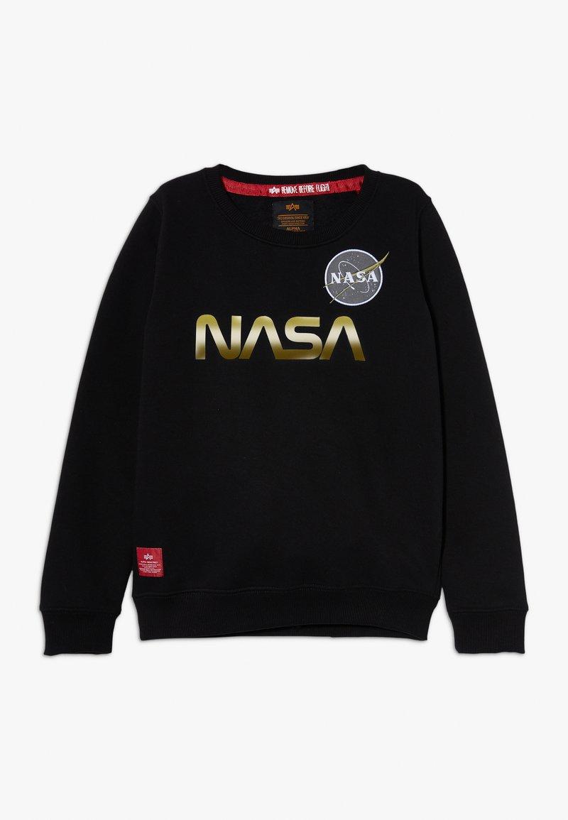 Alpha Industries - NASA REFLECTIVE - Sweatshirt - black