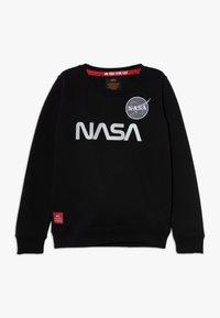 Alpha Industries - NASA REFLECTIVE - Sweatshirt - black - 0