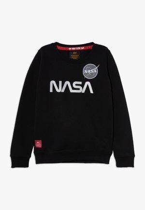 NASA REFLECTIVE - Sweatshirt - black