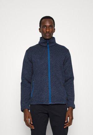 MAN JACKET - Fleece jacket - blue nero