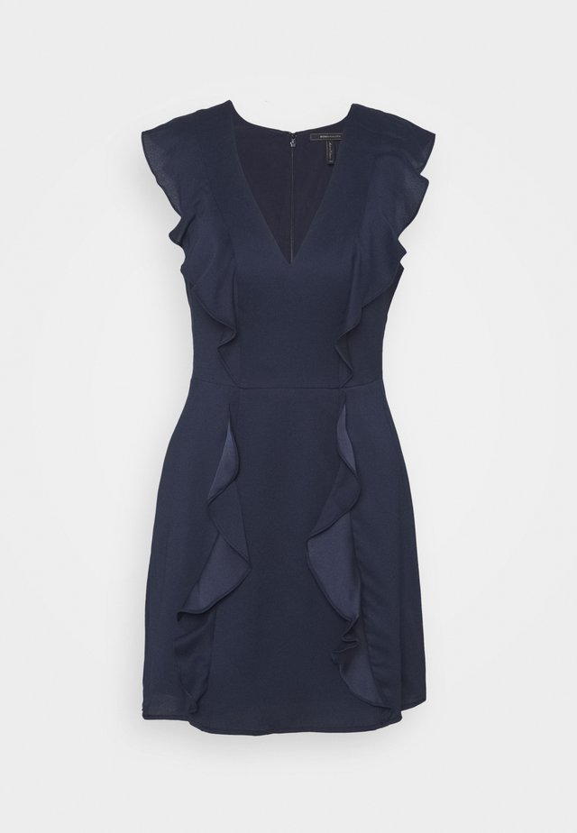 EVE SHORT DRESS - Cocktailjurk - navy