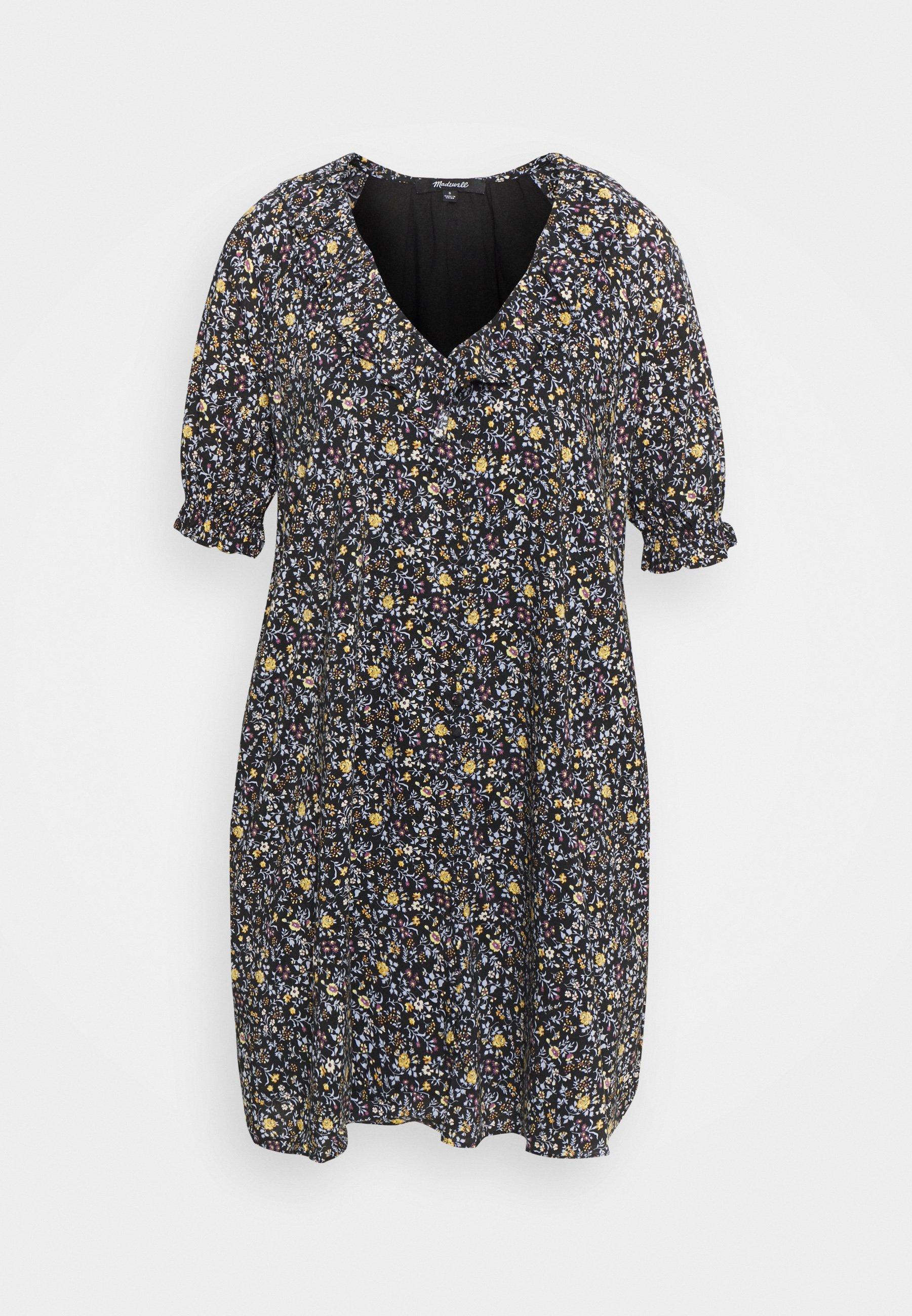 Women RUFFLE NECK EASY DRESS  - Day dress