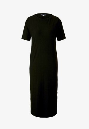 Jersey dress - deep black