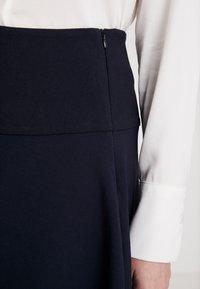 Re.draft - SKIRT - A-line skirt - dark navy - 3