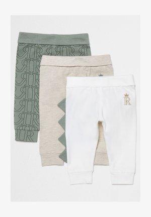 3 PACK - Leggings - Trousers - khaki