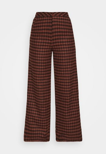 JOHNNY TROUSER - Trousers - camel
