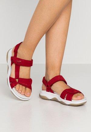 Sandals - rubin