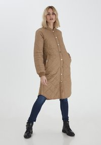 PULZ - PZELINA  - Winter coat - tannin - 1
