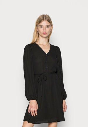 VMSARA SHORT DRESS - Shirt dress - black