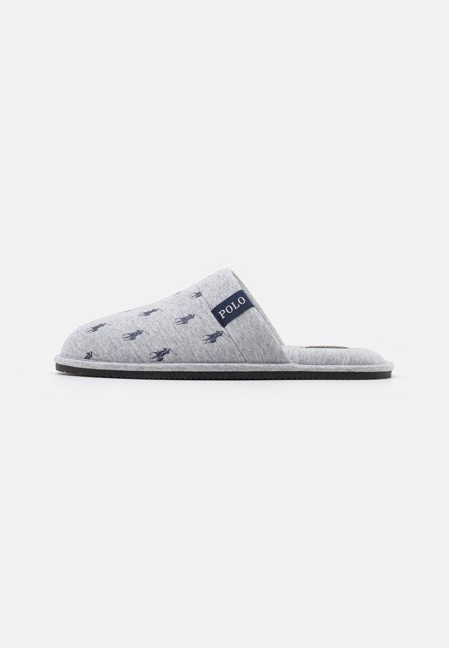 KOLLIN - Pantofole - grey/navy