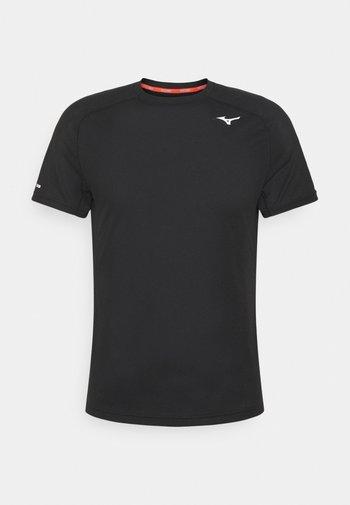DRYAEROFLOW TEE - Tekninen urheilupaita - black