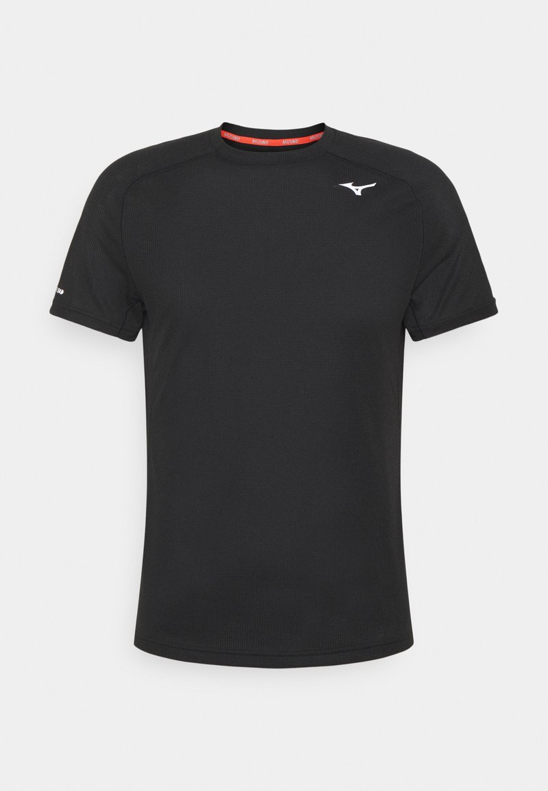 Mizuno - DRYAEROFLOW TEE - Funkční triko - black