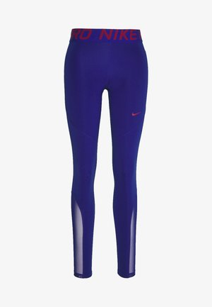 Tights - deep royal blue/noble red