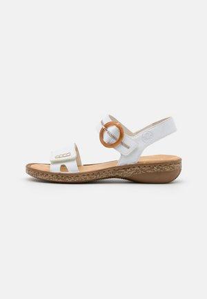Sandały - weiß