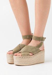 Zign - High Heel Sandalette - khaki - 0