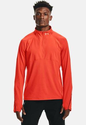 QUALIFIER RUN - Long sleeved top - dark orange