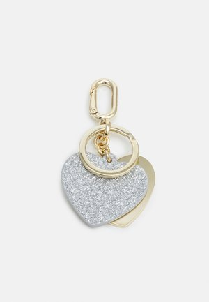 VENUSKEYRING HEART - Breloczek - light silver-coloured