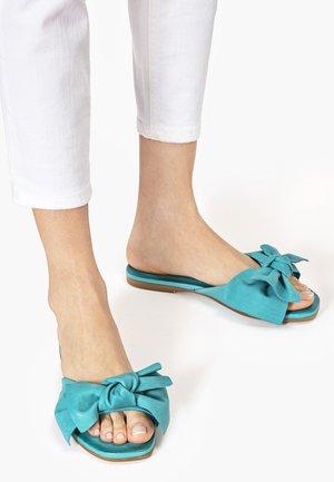 Mules - turquoise