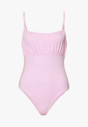 RUCHED BUST STRAPPY  - Top - pink
