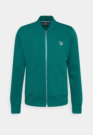 MENS ZIP BOMBER - Zip-up hoodie - green