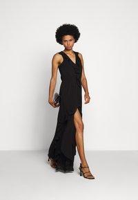 MICHAEL Michael Kors - SOLID RUFFLE MAXI - Occasion wear - black - 1