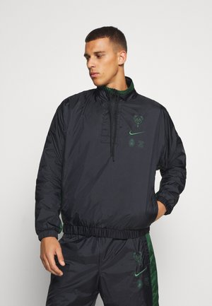 NBA MILWAUKEE BUCKS TRACKSUIT SET - Tracksuit - black/fir