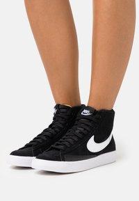 Nike Sportswear - BLAZER MID - High-top trainers - black/white - 0