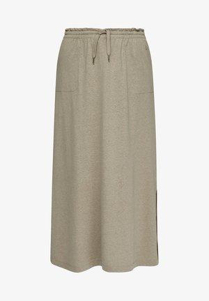 A-line skirt - summer khaki