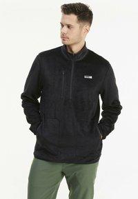Puma Golf - SHERPA ZIP - Fleece jumper - black - 0