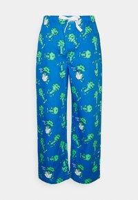 Lousy Livin Underwear - PYJAMA PANT BROCCOLI - Pyžamový spodní díl - directorie blue - 0