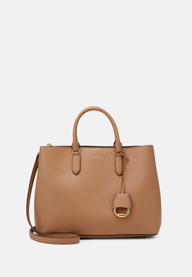 MARCY SATCHEL LARGE - Handbag - nude