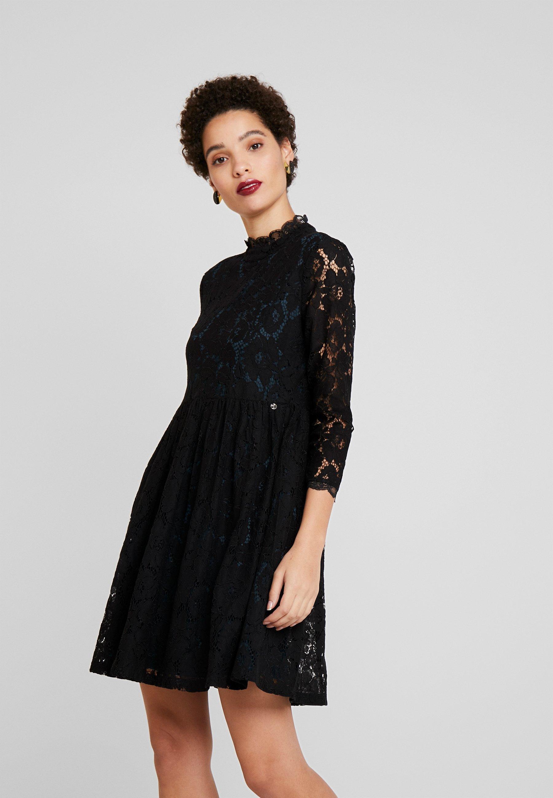 MINI DRESS - Cocktailkleid/festliches Kleid - deep black