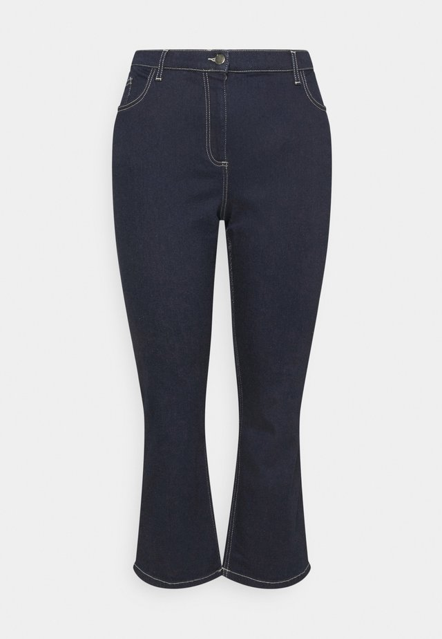 ILONA - Pantalon classique - blu marino