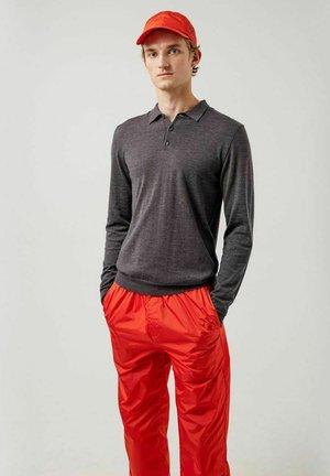 NOEL LIGHT - Polo shirt - dark grey melange