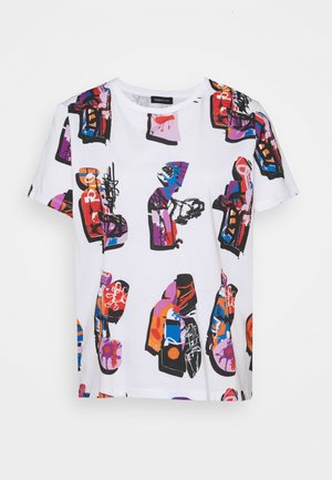 Designed by Mr. Christian Lacroix - T-shirts med print - white