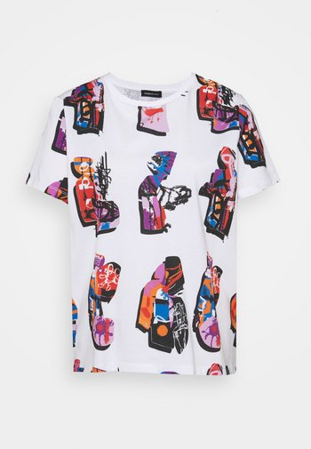 Designed by Mr. Christian Lacroix - Print T-shirt - white