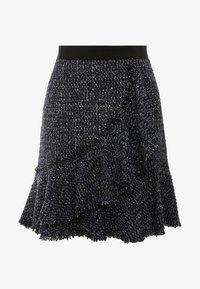 KARL LAGERFELD - SPARKLE BOUCLE - A-line skirt - mood indigo - 3