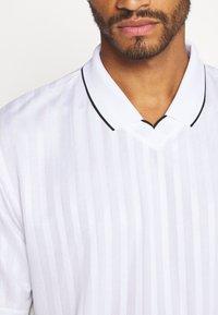Topman - Print T-shirt - white - 5