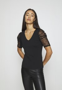Morgan - DAIME - Print T-shirt - noir - 0