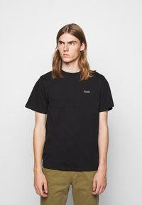 forét - AIR - Basic T-shirt - black - 0
