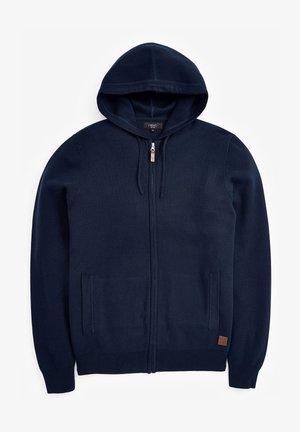 PREMIUM - Zip-up hoodie - dark blue