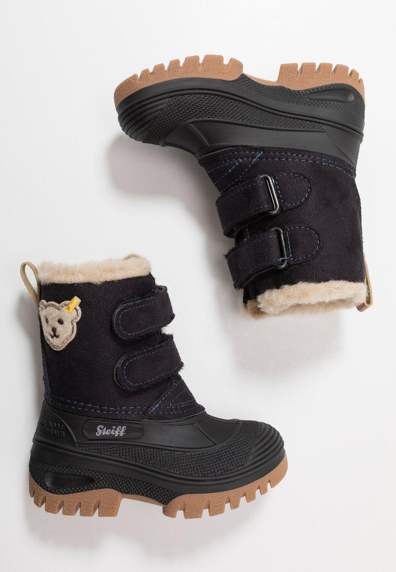 Steiff Shoes - PAULI - Bottes de neige - navy