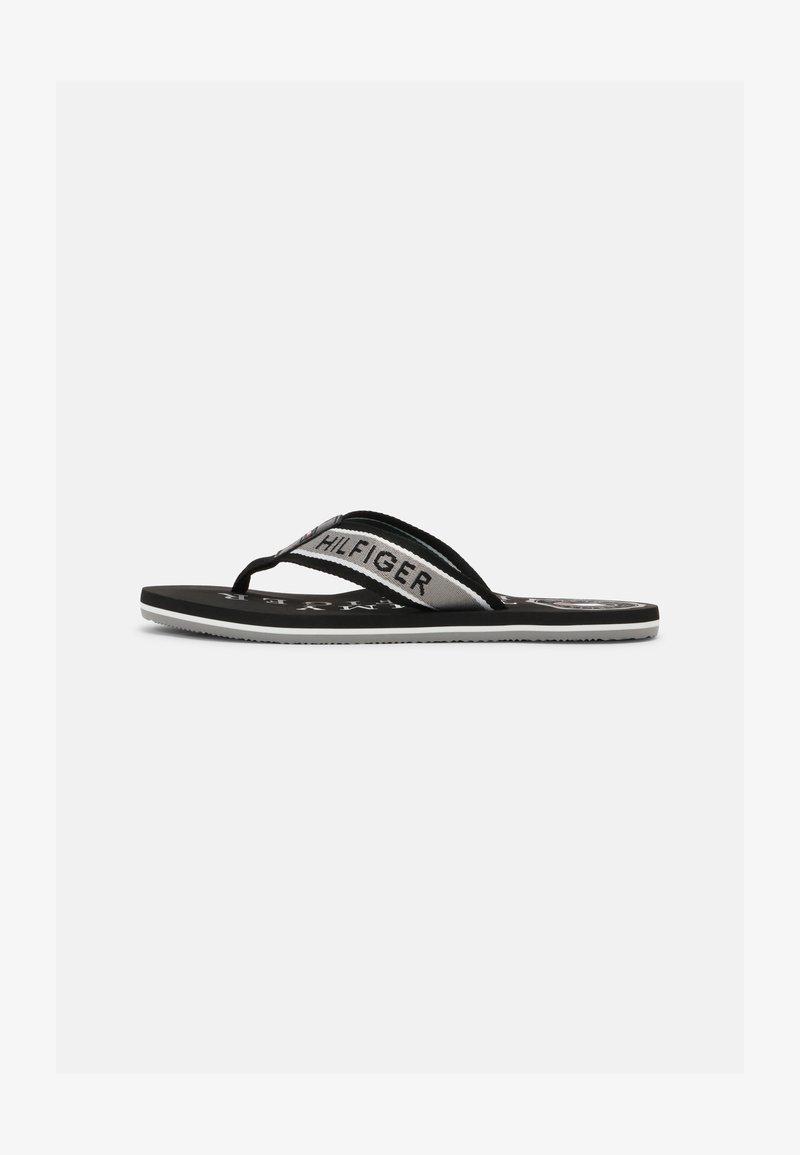 Tommy Hilfiger - MARITIME BEACH  - T-bar sandals - black