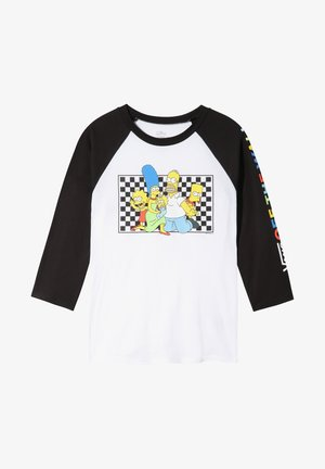 THE SIMPSONS FAMILY RAGLAN - Maglietta a manica lunga - (the simpsons) family