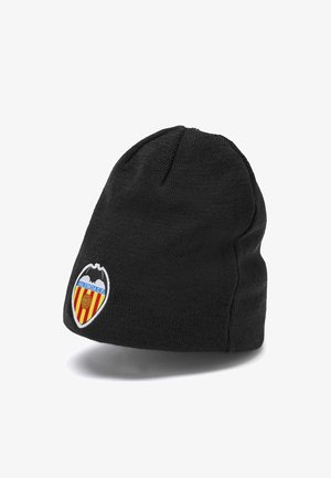 VALENCIA CF REVERSIBLE - Beanie -  black-vibrant orange