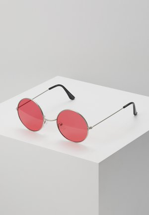 ONSSUNGLASSES ROUND - Sunglasses - new red/silver-coloured